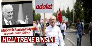 Başbakan'dan Kılıçdaroğlu'nun yürüyüşüne ilk yorum