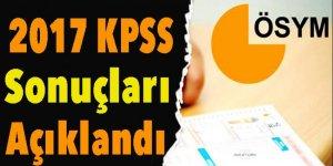 2017 KPSS sonuçları açıklandı