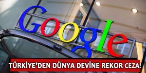 Google'a şok ceza