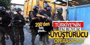 Türkiye'nin en büyük uyuşturucu operasyonu!