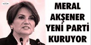 Meral Akşener parti kuruyor! Tarihi belli oldu