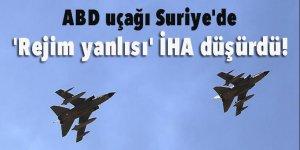 ABD uçağı Suriye'de 'rejim yanlısı' İHA düşürdü!