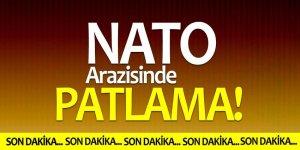 NATO arazisinde patlama! Duvarlar yıkıldı…