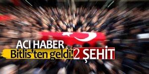 Acı haber Bitlis'ten geldi! 2 Şehit