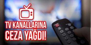 TV kanallarına rekor ceza
