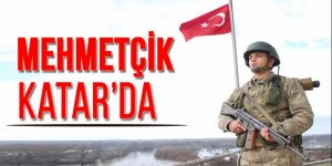 Türk askeri Katar'a girdi