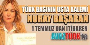 Türk basının usta kalemi 1 Temmuz'dan itibaren AVAZTÜRK'de!