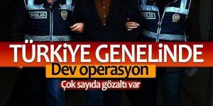 Türkiye genelinde 'duman' operasyonu: Çok sayıda gözaltı var