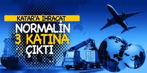 Bakanı Tüfenkci: 'Katar'a ihracat 3 katı arttı'