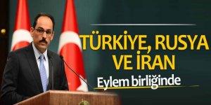 Türkiye, Rusya ve İran eylem birliğinde