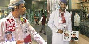 O ülkelerin vatandaşlarından Katar'a destek