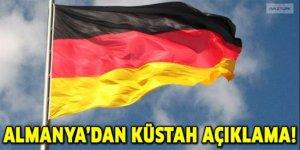 Almanya'dan küstah açıklama: Gelmeyeceklerine inanıyoruz!