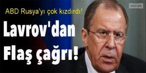 ABD Rusya'yı çok kızdırdı! Lavrov'dan flaş çağrı!