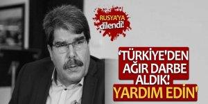 Teröristbaşı Salih Müslim: 'Türkiye'den ağır darbe aldık! Yardım edin'