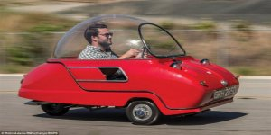İşte dünyanın en küçük otomobili!