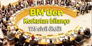 BM'den korkutan bilanço: Rakka'da 173 sivil öldü!