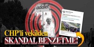 Sözde 'Adalet' yürüşüne CHP'li vekilden skandal benzetme! 'Peygamber'in izinden...'