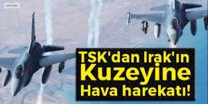 TSK'dan Irak'a hava harekatı!