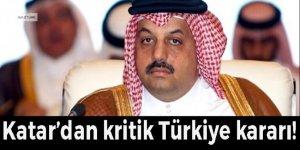 Katar Savunma Bakanı'ndan kritik Türkiye kararı!