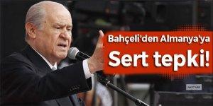 Bahçeli'den Almanya'ya sert tepki: Erdoğan'a yapılan...