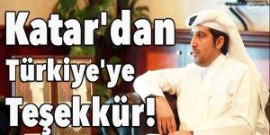 Katar'dan Türkiye'ye teşekkür!