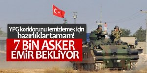 YPG koridorunu temizlemek için hazırlıklar tamam!