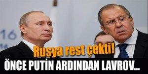 Lavrov rest çekti, Rusya ile mi, Rusya'ya karşı mı?