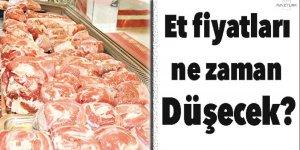 Et fiyatları ne zaman düşecek?