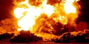 Fabrikada patlama: Çok sayıda yaralı var