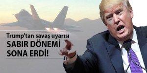 Trump'tan Kuzey Kore'ye savaş uyarısı!
