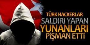 Türk hackerlardan Yunan hackerlara soğuk duş!