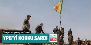 YPG'yi Türkiye korkusu sardı