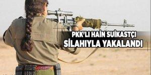 Mardin'de PKK'lı hain suikastçı silahıyla yakalandı