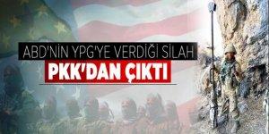 ABD silahları PKK kampından çıktı