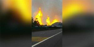 Doğalgaz boru hattında patlama: 8 ölü, 35 yaralı!