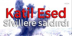 Esad güçleri sivillere saldırdı! Çok sayıda ölü var