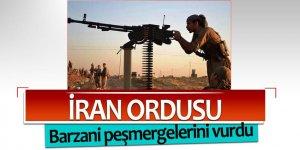 İran, Barzani peşmergelerini vurdu