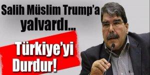 Teröristbaşı Salih Müslim Trump'a yalvardı! 'Türkiye'yi durdur'