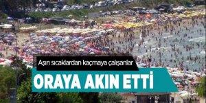İstanbullular Şile plajlarına akın etti
