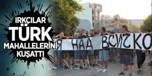 Bulgaristan'da ırkçılar Türk mahallelerini kuşattı