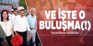 Kılıçdaroğlu 19'uncu gününde HDP'lilerle buluştu