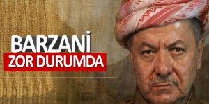 Barzani zor durumda