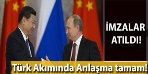 Sibirya'nın Gücü Doğalgaz Boru hattı devreye sokuluyor