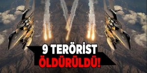 TSK teröristlere kan kusturtuyor! 9 terörist etkisiz öldürüldü