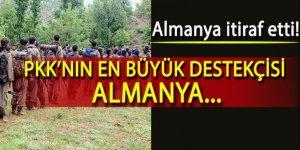 Almanya itiraf etti! 'PKK'ya para gönderdik'