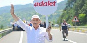Adalet yürüyüşü CHP'li vekili hastanelik etti