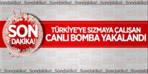 Türkiye'ye sızmaya çalışan canlı bomba yakalandı
