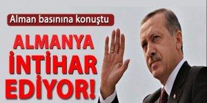 Cumhurbaşkanı Erdoğan Alman basınına konuştu!