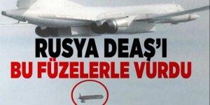 Rusya, DAEŞ'i ' X-101 tipi kruz füzeleriyle vurdu!