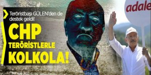 CHP'NİN sözde adalet yürüyüşüne FETÖ'den de destek geldi